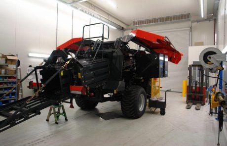 testcabine met luchtfilteringsinstallatie